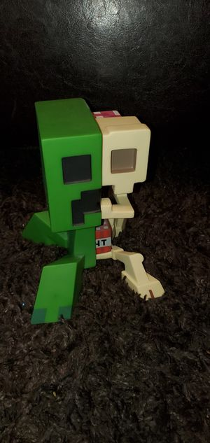 Minecraft creeper anatomy figure for Sale in Las Vegas, NV