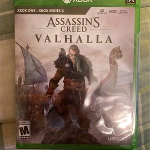 Assassin's Creed Valhalla, Xbox Series X, Series S, Xbox One, NEW and SEALED for Sale in Coventry, RI