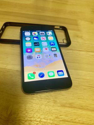 iPhone 6 great condition with 2 cases an holster! price negotiable for Sale in Somerset, NJ