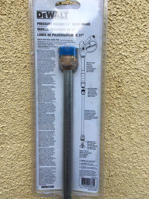 "Dewalt pressure washers spray 31"" wand for Sale in Los Angeles, CA"