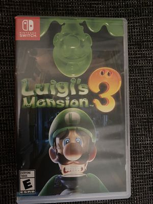 Luigi's Mansion Nintendo Switch for Sale in Los Angeles, CA