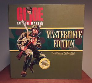 Gi Joe Masterpiece Edition Action Figure Army Toy for Sale in Marietta, GA