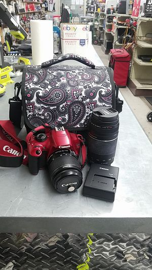 Canon EOS Rebel T5 DSLR Camera Kit for Sale in Phoenix, AZ