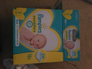 Pampers Diapers for Sale in Virginia Beach, VA