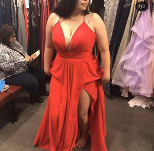 Red prom dress 14-16 for Sale in San Jose, CA