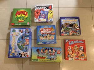 Board Games! 7 Gently Used Games! for Sale in Las Vegas, NV