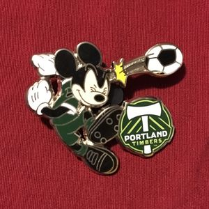 Disney Portland Timbers MLS Mickey Mouse Pin soccer football for Sale in Bartow, FL