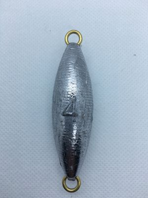 Dolphin tackle torpedo 4 oz fishing sinker lead weight for Sale in Yorba Linda, CA
