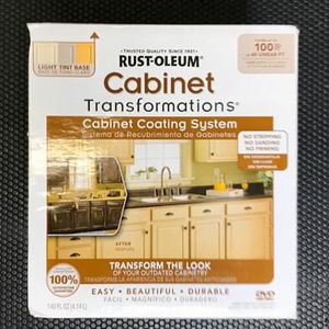 NEW Rustoleum Cabinet Transformations Paint Kit WHITE COLOR for Sale in The Bronx, NY