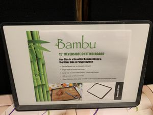 """15"""" REVERSIBLE BAMBOO CUTTING BOARD for Sale in Stockton, CA"""