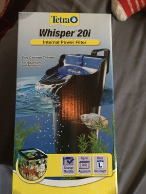 Aquarium filter for Sale in Fontana, CA