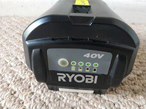 For RYOBI 40 V 6 Ah Lithium Battery. Brand New. for Sale in Fort Lauderdale, FL