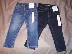 $10 each New boys skinny jeans size 2T for Sale in El Monte, CA