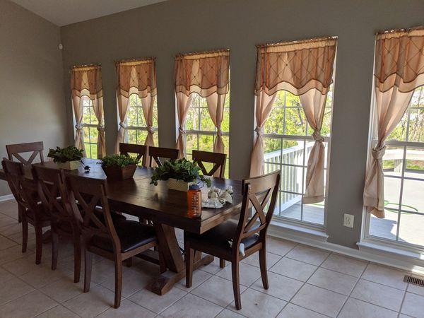 9 piece dining set