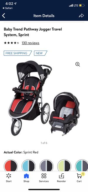 Baby trend jogger travel system for Sale in Wilkes-Barre, PA