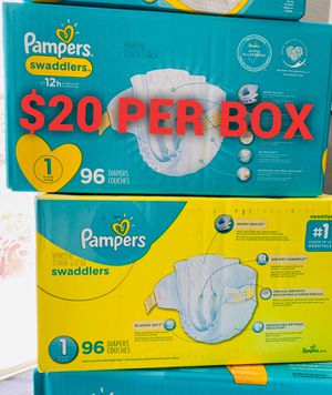 Pampers diapers size 1 for Sale in Long Beach, CA