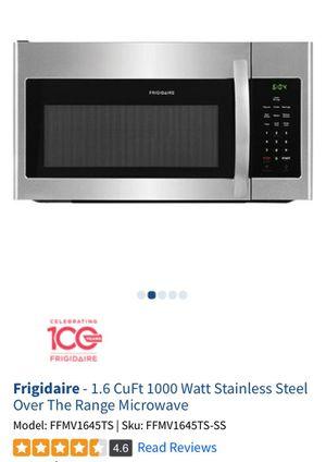 Frigidaire Stainless Steel Microwave for Sale in Atlanta, GA