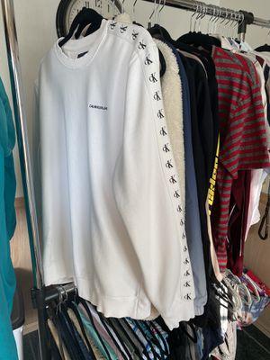 Calvin Klein sweater, Adidas sweatpants for Sale in La Habra Heights, CA