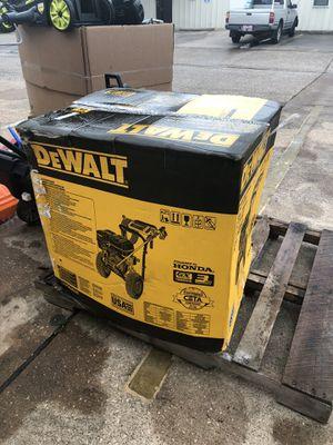 New Dewalt 4000psi pressure washer for Sale in Pasadena, TX