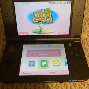 Nintendo 3DS XL with Animal Crossing New Leaf for Sale in Ridge, NY