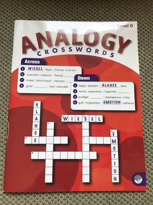 Analogy Crosswords for Sale in Stafford Township, NJ