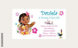 Customised Moana Invitations for Sale in Apopka, FL