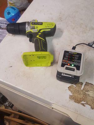 Ryobi drill for Sale in WESLEYAN COL, NC