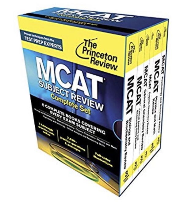Used 2015 MCAT Review (The Princeton Review)