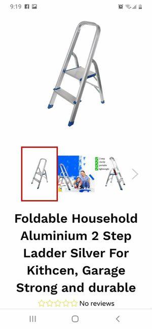 Aluminium 2 stop laddler for Sale in DEVORE HGHTS, CA