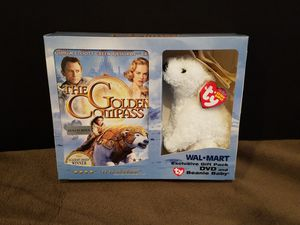 The Golden Compass DVD with TY Beanie Baby for Sale in Toms River, NJ