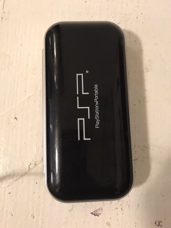 PSP portable station with charger and case