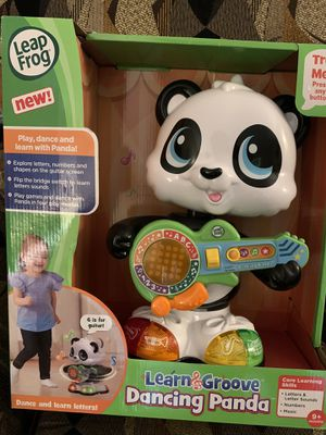 New Leap frog learn and groove dancing panda for Sale in Ellenton, FL