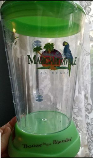 Margaritaville Las Vegas acrylic booze in a blender pitcher cup for Sale in Long Beach, CA
