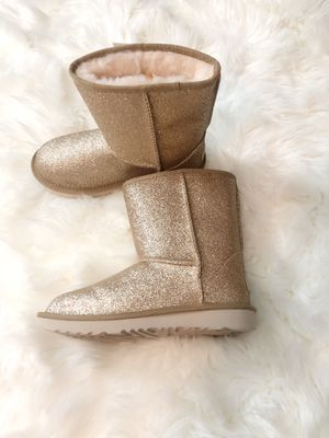 Glittery UGG boots size 3 (big girls) for Sale in Fairfax Station, VA