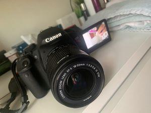 Canon eos rebel t5i for Sale in Cranston, RI