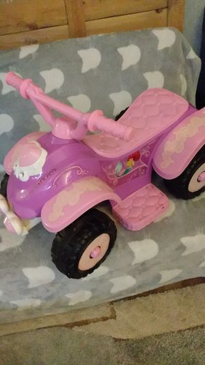 Disney princess ride on quad for Sale in Dallas, TX