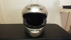 SHOEI Motorcycle Helmet, Full Face - Gray, Used, Few nicks and scratches - Medium for Sale in Los Angeles, CA