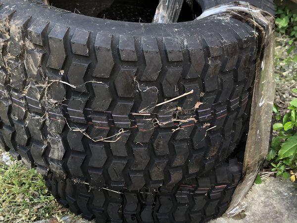 2 NEW Carlisle Turfsaver Lawn & Garden Tire - 20X10-10 tires,