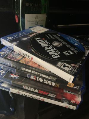 PS4 Games for Sale in Arlington, TX