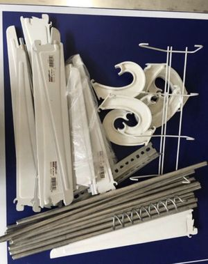 Shelf brackets and rods for Sale in Los Angeles, CA