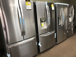 LG refrigerator New Down payment for Sale in Passaic, NJ