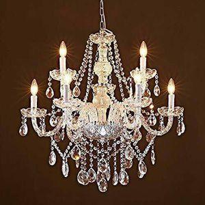 Saint Mossi Modern Contemporary Elegant Crystal Glass Chandelier Pendant Ceiling for Sale in Lynn, MA