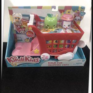 Kindi Kids Kindi Fun Shopping Cart New Unopened Box Shopkins for Sale in Chino, CA