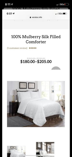 Full queen comforter Veratex new for Sale in Rio Linda, CA