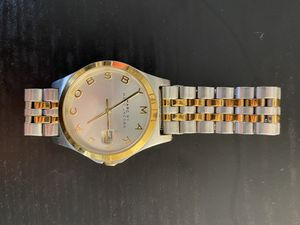 Marc Jacobs watch (Gold and Silver) for Sale in Bethesda, MD