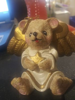 Vintage Claire's 1996 angel bear ornament. Priced to sell. for Sale in Powder Springs, GA