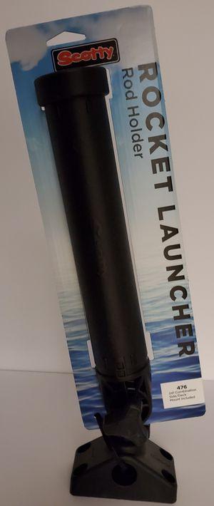 (AQ) SCOTTY '476 Rocket Launcher' Single Fishing Rod Holder for Sale in Mesa, AZ
