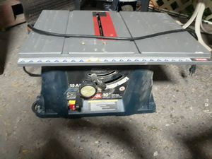 Table saw for Sale in Mission, TX