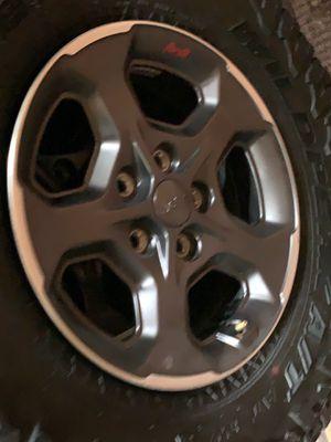 2020 Jeep rubicon wheels for Sale in Des Moines, WA