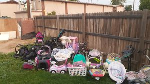Baby toddler and kids items clothes shoes and some mens shoes as well for Sale in Phoenix, AZ